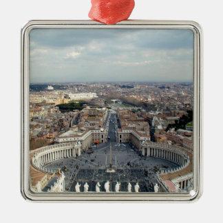Vatican City Metal Ornament