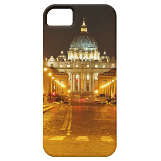 Vatican city, Rome, Italy at night Barely There iPhone 5 Case
