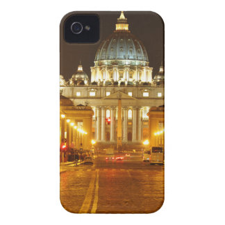 Vatican city, Rome, Italy at night iPhone 4 Case