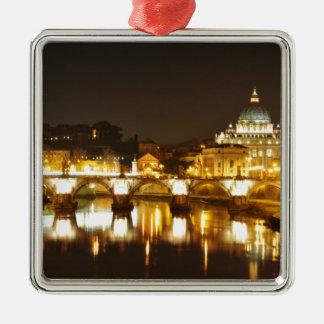 Vatican city, Rome, Italy at night Metal Ornament