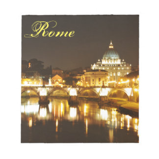 Vatican city, Rome, Italy at night Notepad