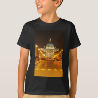 Vatican city, Rome, Italy at night T-Shirt