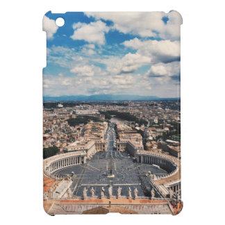 Vatican city top view case for the iPad mini