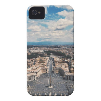 Vatican city top view iPhone 4 Case-Mate cases
