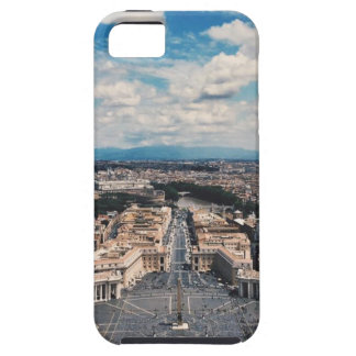 Vatican city top view tough iPhone 5 case