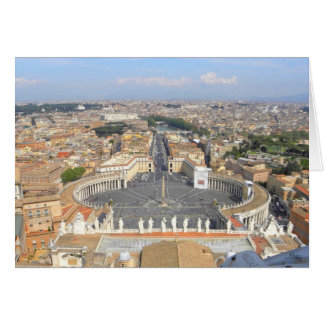 Vatican Greeting Card