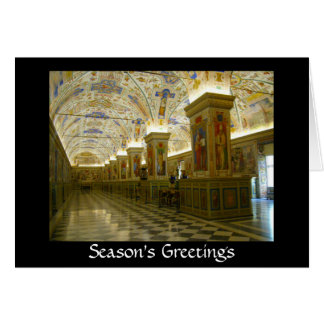 vatican greetings card