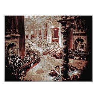 Vatican II council, Rome, 1962 Pope John XXIII Photograph