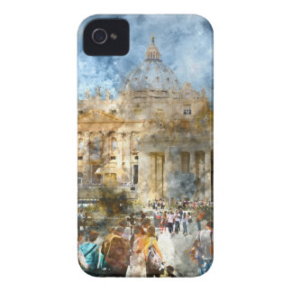 Vatican in  Rome Italy iPhone 4 Case-Mate Cases
