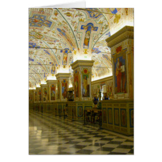 vatican museum hall card