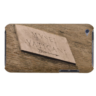 Vatican Museums sign, Rome, Italy Case-Mate iPod Touch Case