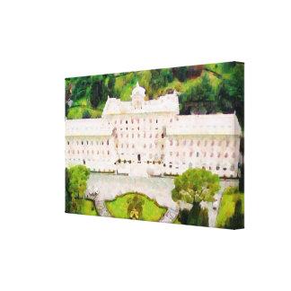 Vatican painting canvas print
