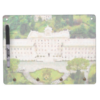 Vatican painting dry erase board with key ring holder