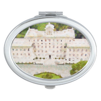 Vatican painting vanity mirror
