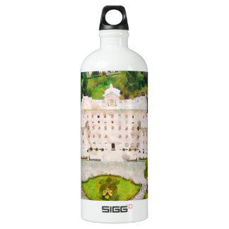 Vatican painting water bottle