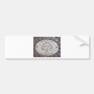 Vatican Piazza floor Bumper Sticker