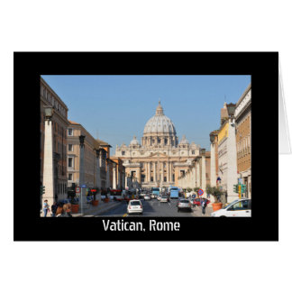 Vatican, Rome, Italy Card