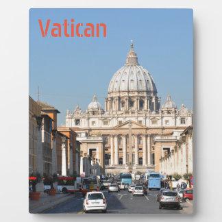 Vatican, Rome, Italy Plaque