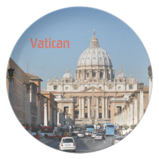 Vatican, Rome, Italy Plate