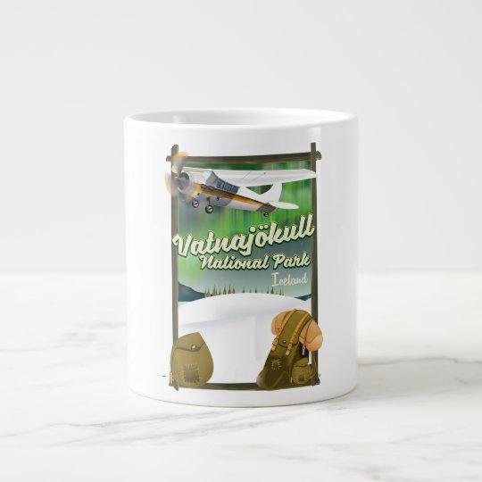 Vatnajökull National Park Iceland Large Coffee Mug