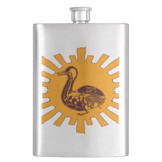 Vaucanson's Duck Hip Flask