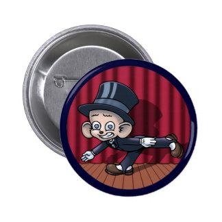 Vaudeville Hoofin' 6 Cm Round Badge