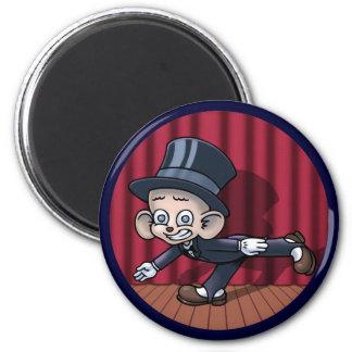 Vaudeville Hoofin' 6 Cm Round Magnet