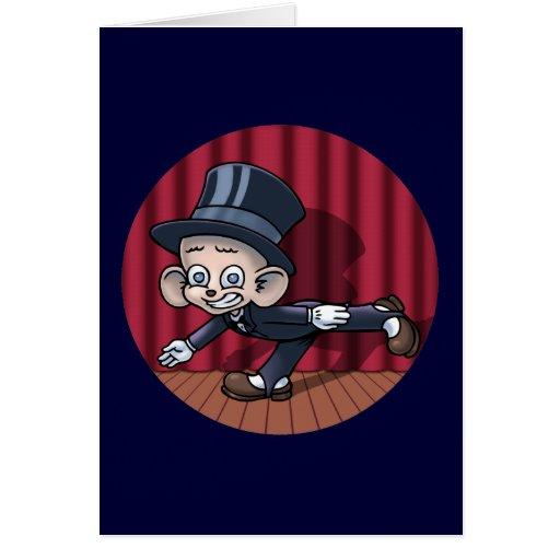 Vaudeville Hoofin' Card