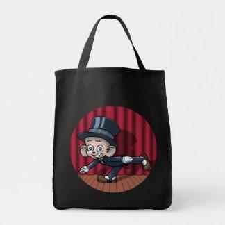 Vaudeville Hoofin' Grocery Tote Bag