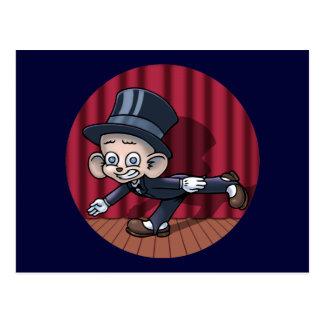 Vaudeville Hoofin' Postcard