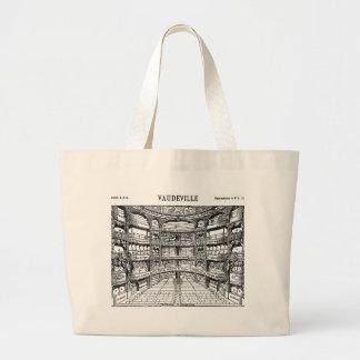 Vaudeville - Paris- 1900 Large Tote Bag