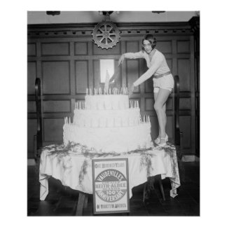 Vaudeville s 100th Anniversary 1926 Print