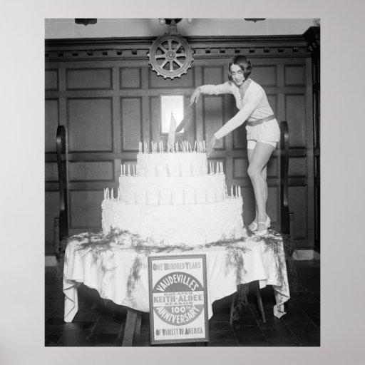 Vaudeville's 100th Anniversary: 1926 Print