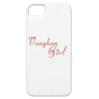 Vaughan Girl iPhone 5 Covers