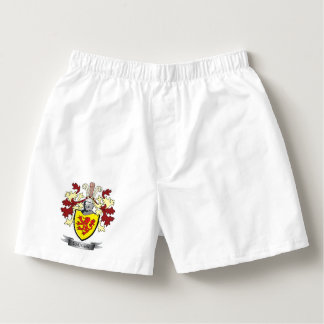 Vaughn Family Crest Coat of Arms Boxers
