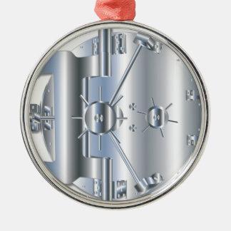Vault Door Metal Ornament