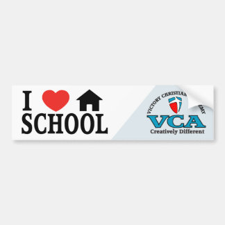 VCA I Heart Bumper Sticker