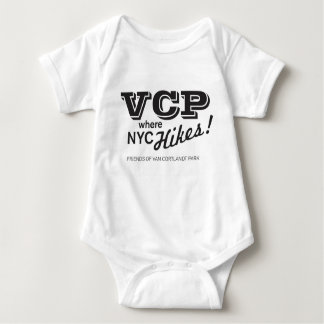 VCP Where NYC Hikes Merchandise Baby Bodysuit