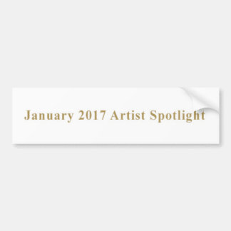 VCVH Records Akademia 2017 Spotlight Bumper Sticker