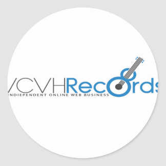 VCVH Records Clothings Classic Round Sticker