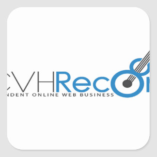 VCVH Records Clothings Square Sticker