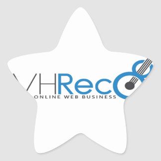 VCVH Records Clothings Star Sticker