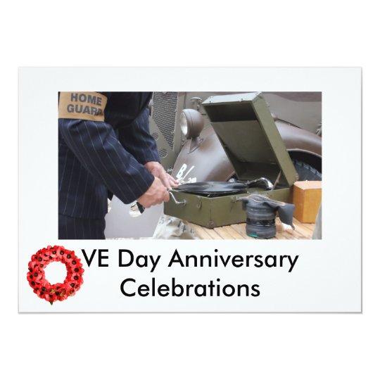 VE Day celebrations invite