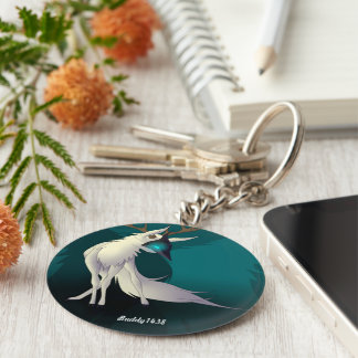 Veara (deer) key ring