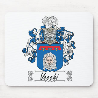 Vecchi Family Crest Mouse Pad