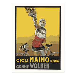 Vector Art, cycling, Italian champion 1920 Postcard
