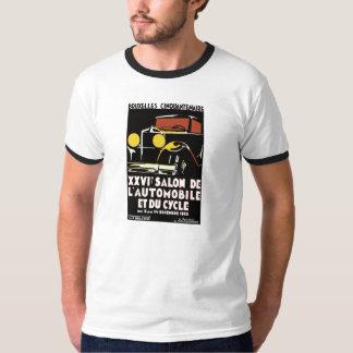 Vector art deco Brussels 1930s auto salon ad Tee Shirts