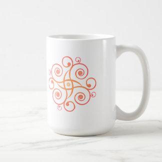 Vector Art: Gradient Spirals: Coffee Mug