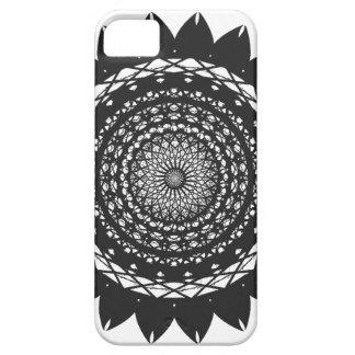 "Vector Art ""Sunflower"" (black) iPhone 5 Covers"