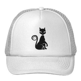 Vector Black Cat Cap